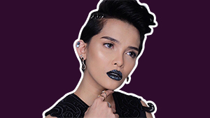 Lotd: Kz Tandingan Puts A Unique Twist To The Black Lip