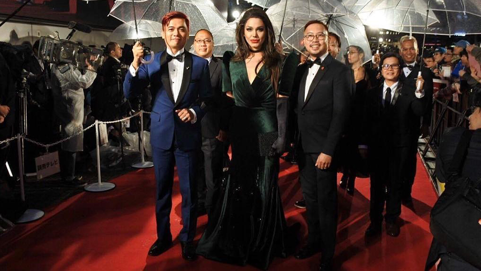 Paolo Ballesteros Is Angelina Jolie at the Tokyo Int'l Film Fest