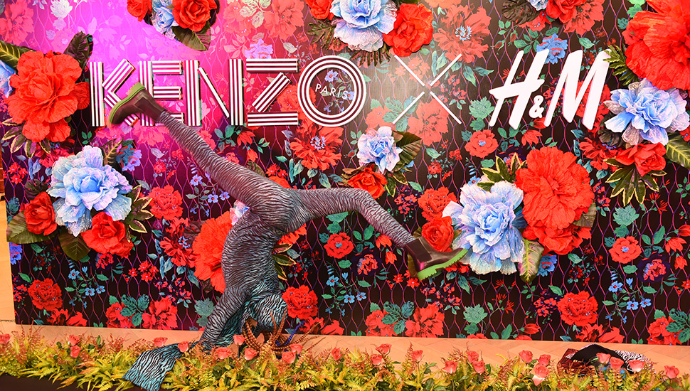 Inside the VIP Shopping Party of Kenzo X H&M