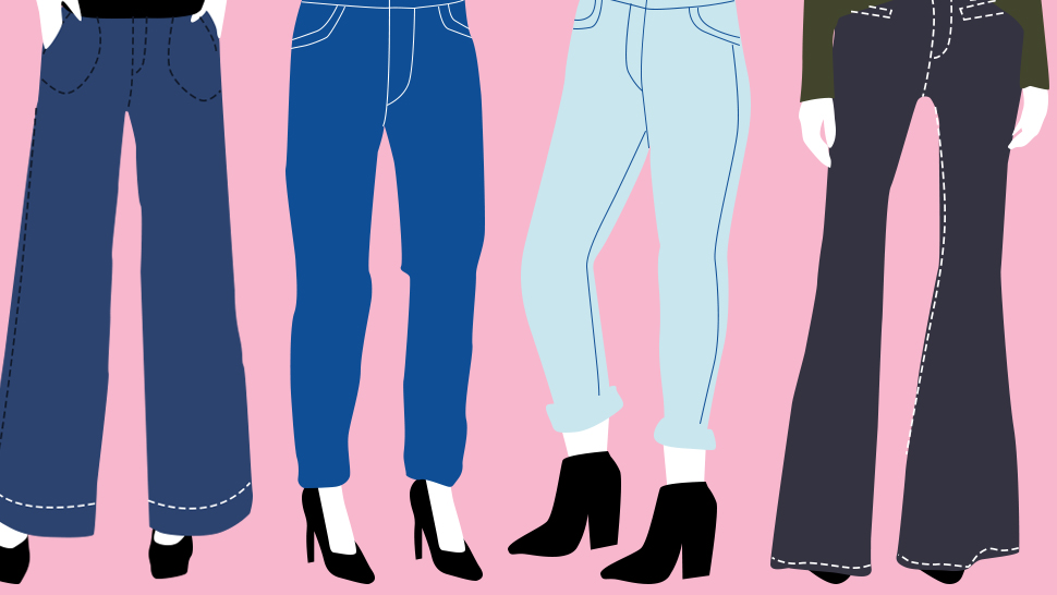 The Different Types Of Denim Silhouettes