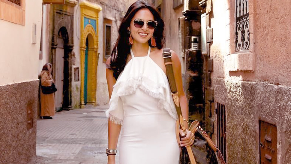 Lotd: Here's How Maggie Wilson-consunji Made Her Little White Dress Vacay-ready