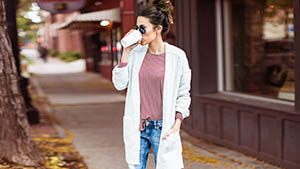 3 Cool Ways To Style Your Oversized Cardigan