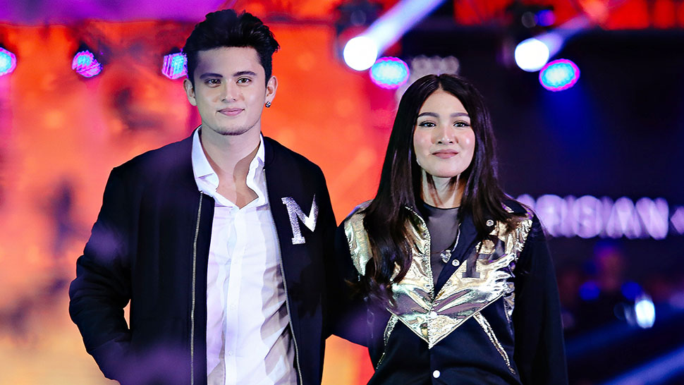 James Reid And Nadine Lustre Walk The Runway For Parisian X Milanos Holiday 2016