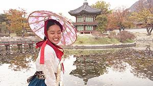 Lauren Reid Channels Her Inner K-drama Princess In Korea