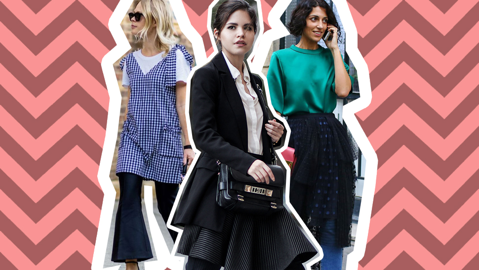 How to Wear the Dress-Over-Pants Trend