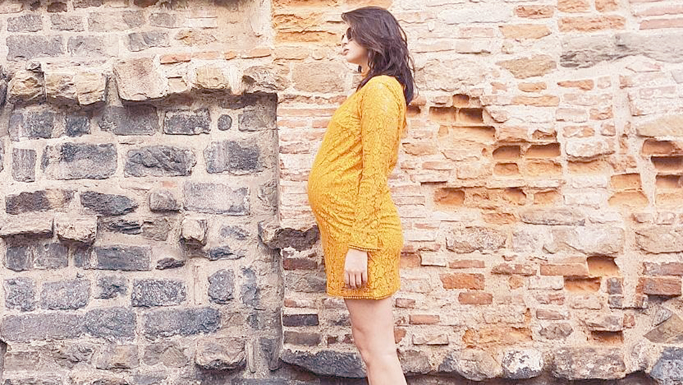15 Times Georgina Wilson's Pregnancy Style Was Totally Flawless