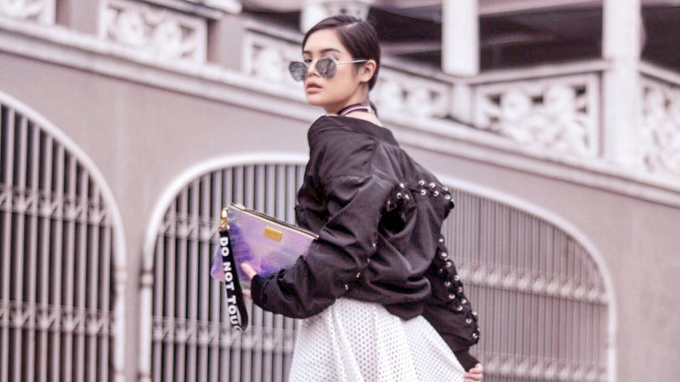 Lotd: Check Out How Bea Marin Gave A Dainty Twist To Her Edgy Outfit