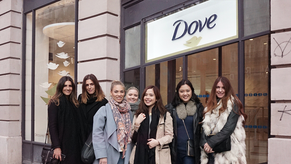 The Dove Pop-Up Store Will Make You Wish You Were in Paris