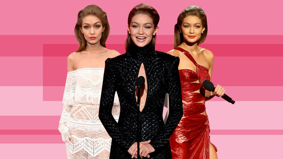See All of Gigi Hadid's Stunning Outfits at the 2016 AMAs