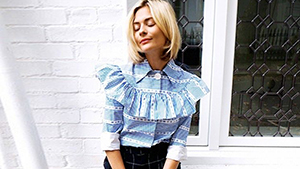How To Wear The Ruffled Top