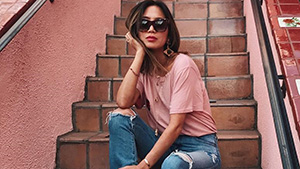 Lotd: Aimee Song Proves You Can Wear A Cropped Off-shoulder Top To Formal Events