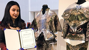 This Filipino Designer Made Manila Into A Dress And Bagged An International Award For It