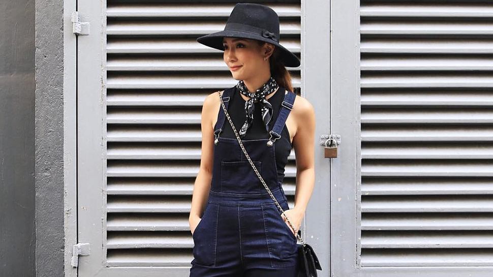 Lotd: Marie Lozano Makes Overalls Look So Chic