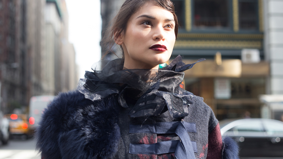 Pia Wurtzbach Conquers New York City In Louis Vuitton And Sacai