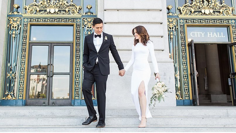 5 Elegant Looks You Can Wear To Your Civil Wedding