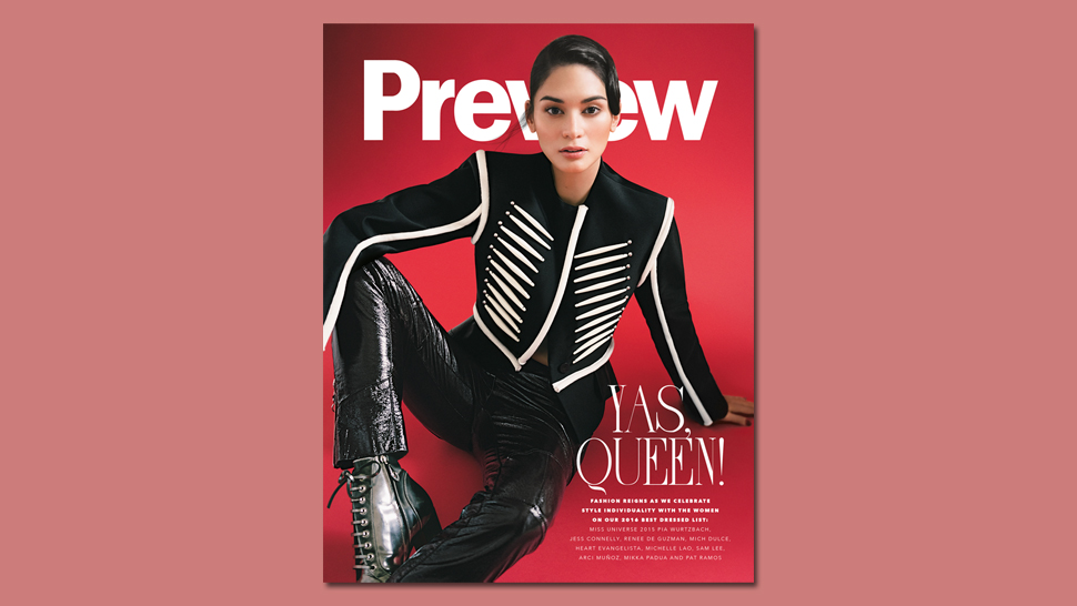 Here's A Peek Inside Our #previewbestdressed Issue