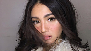 Nadine Lustre Looks Gorgeous With Faux Freckles