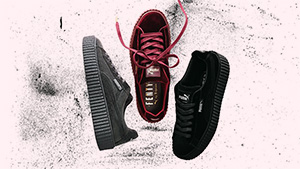 Rihanna's Puma Creepers Now Come In Holiday-ready Velvet