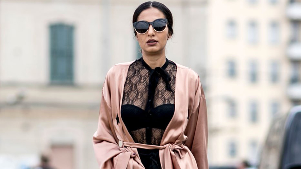 How to Wear Your Silk Robe Outside Without Looking Like You're Sleepwalking
