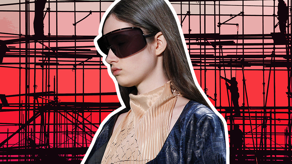 The 10 Times We Saw Construction Materials on the FW 2016 Runways