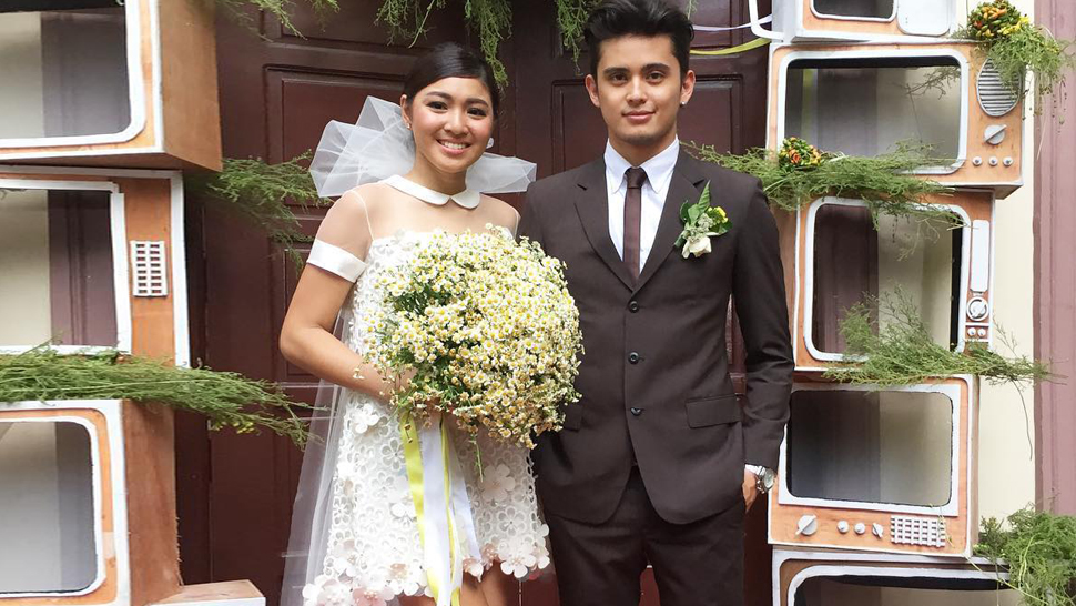 All The Details Of Nadine Lustre's Look For Her Wedding In 'till I Met You'