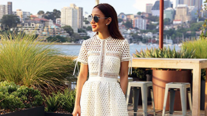 Lotd: Marie Lozano Gives The Little White Dress An Unexpected Twist