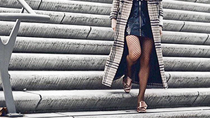 Here's How You Can Wear Fishnet Tights Like A Fashion Girl