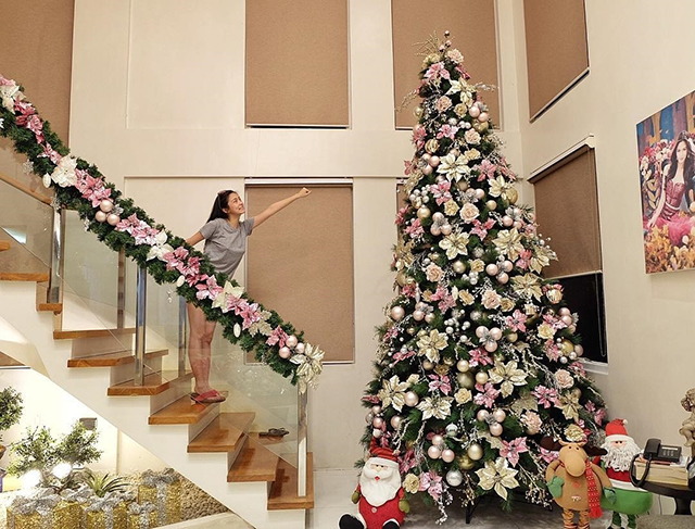 3 - Celebrities Christmas Decorated Homes