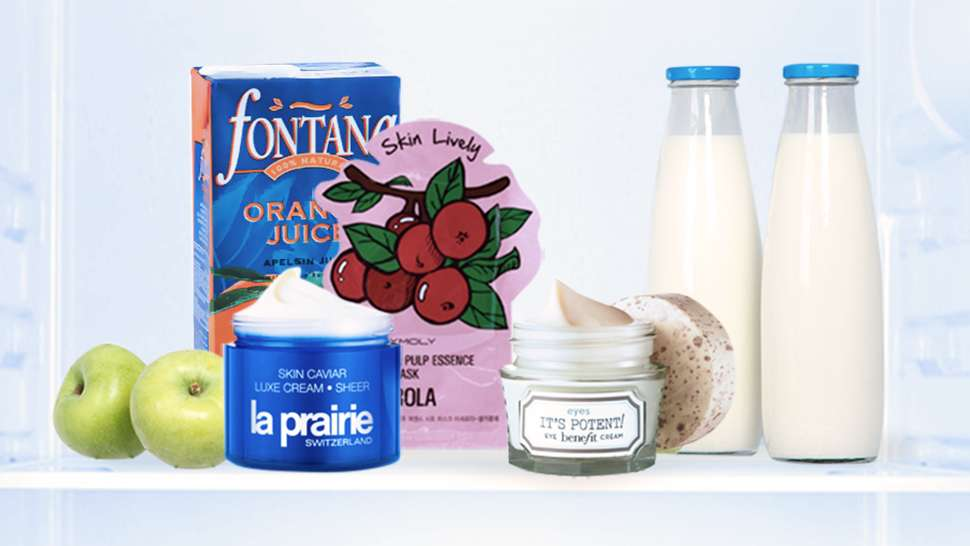 6 Beauty Products You Should Be Storing in the Fridge
