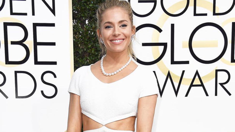 LOTD: Sienna Miller's Ribboned Ponytail