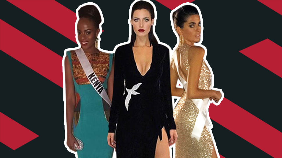 10 Most Stylish Delegates At The Miss Universe Governor's Ball