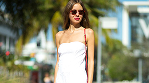 How To Dress For The Beach If You're A Fall-winter Girl At Heart
