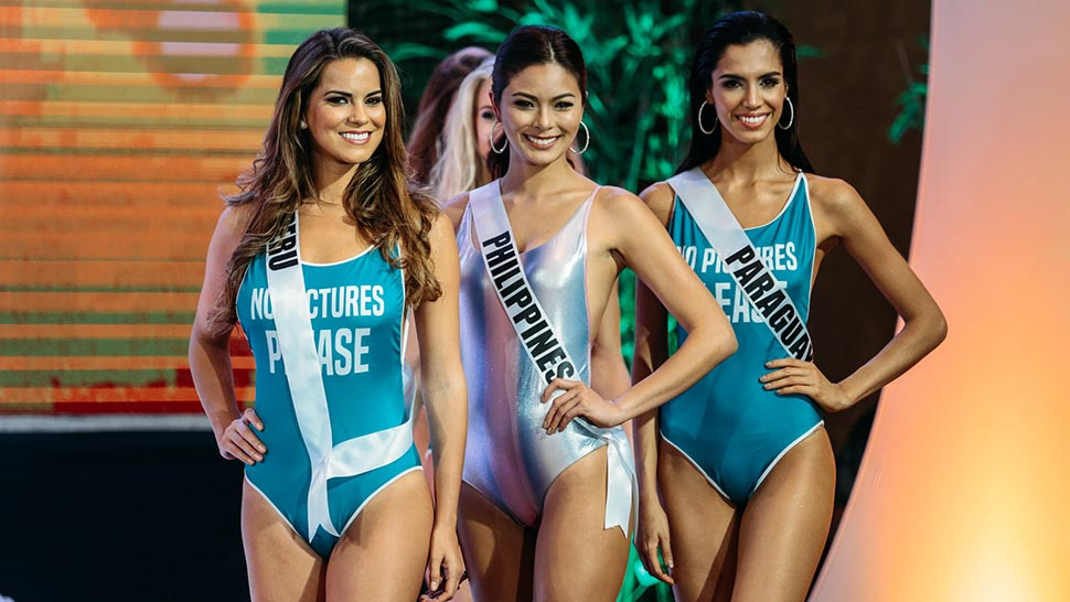 You Have To See The Miss Universe Candidates In Their Sexy Swimsuits