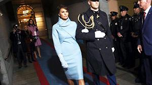Lotd: Melania Trump Wears Ralph Lauren To The Us Inauguration Day