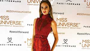 See Locally Designed Dresses Worn By The Miss Universe Candidates At The National Gift Auction