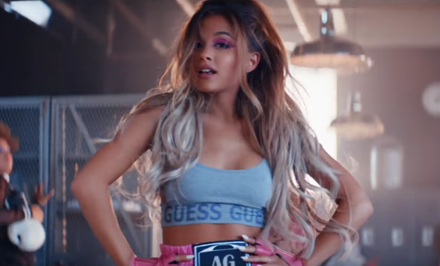 Where to Buy the Sports Bra from Ariana Grande's Music ...