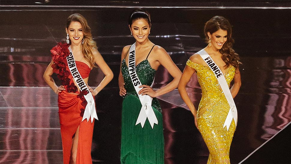 The Miss Universe 2016 Candidates Look Stunning In Their Evening ...