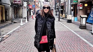 Lotd: Let Pauline Juan Show You How To Wear Fishnets Like A Street-style Star
