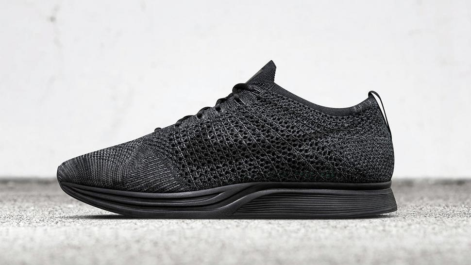Nike Is Releasing An All-black Flyknit Racer On February 4