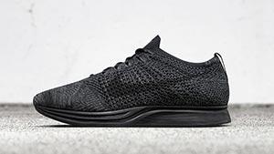 Nike Is Releasing An All-black Flyknit Racer On February 4