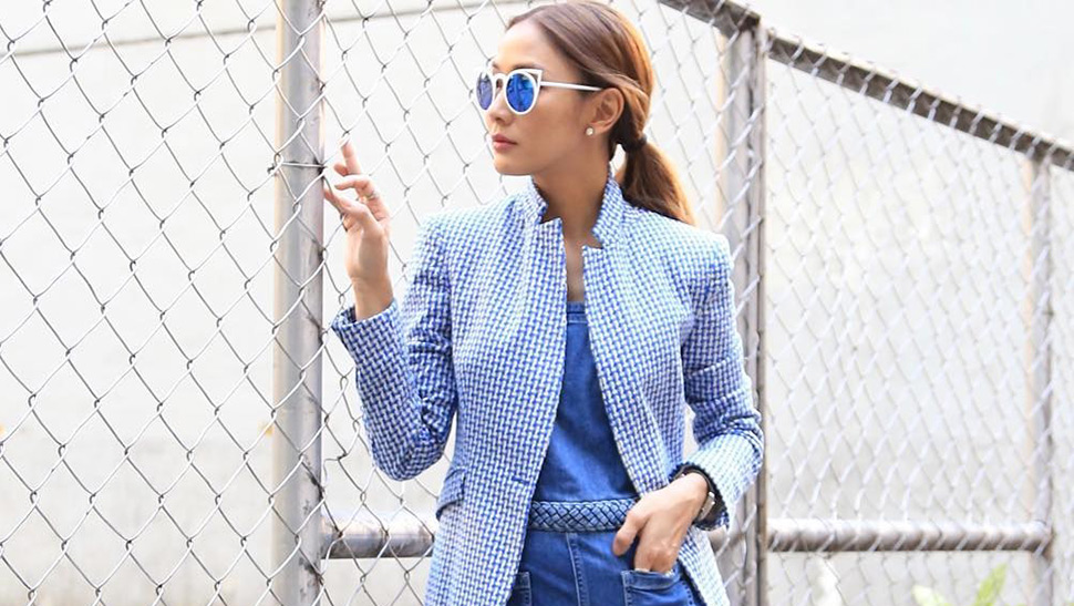 5 Times Marie Lozano Made Denim Look Chic
