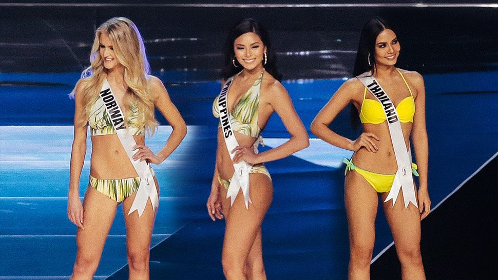 The Miss Universe 2016 Candidates In Their Swimsuits Will Inspire You To Hit The Gym