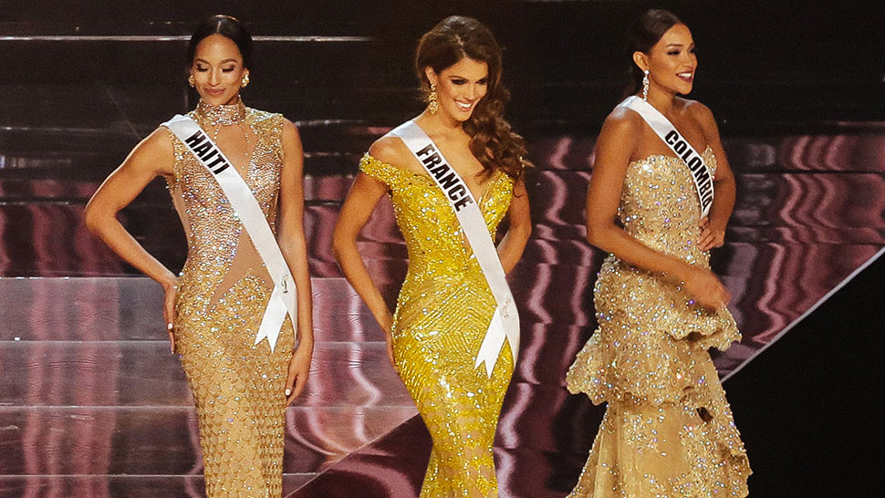 Is Gold The Winning Color At #missuniverse2016?