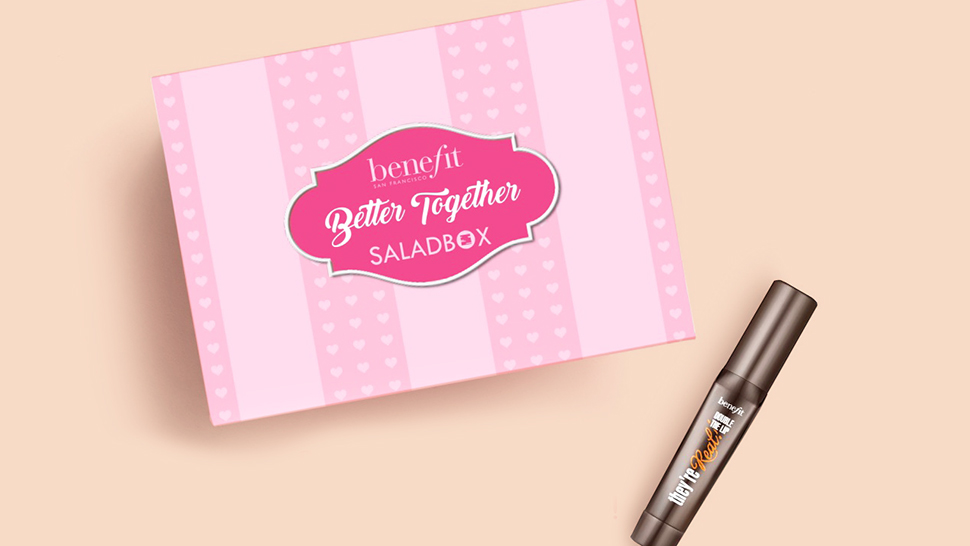 Saladbox X Benefit Cosmetics Has the Perfect Valentine Surprise for You