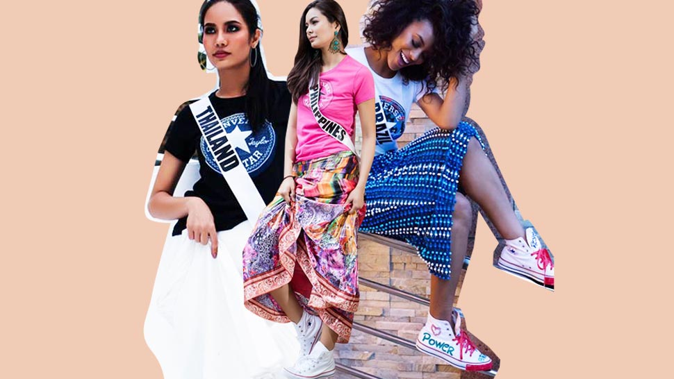 You Can Own A Pair Of Converse Designed By The Miss Universe Candidates