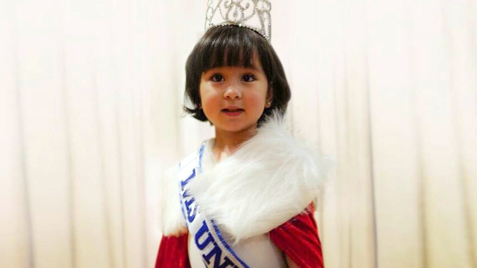 Scarlet Snow Belo Dressed As Miss Universe Is the Cutest Thing You'll See Today
