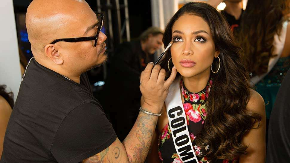 Mac Makeup Artists Take Us Backstage At Miss Universe 2016