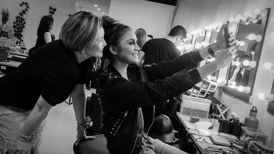 Regine Velasquez is Now a Makeup Artist Too