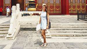 Check Out Miss Universe Iris Mittenaere's Off-duty Style