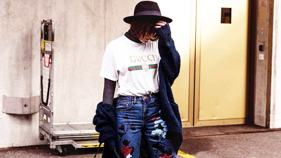 5 New Ways To Wear A Logo Tee